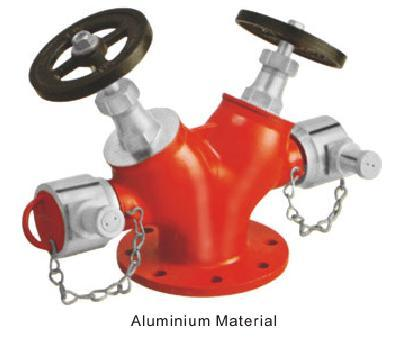 Double Outlet Landing Valve (Type 'B') ISI Marked