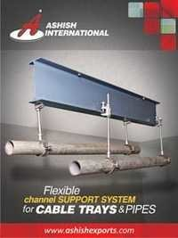 channel support system for cable trays & pipes
