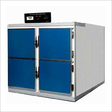 4 Body Mortuary Cabinets