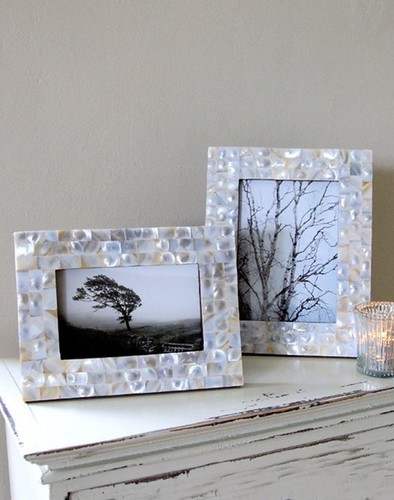 Mother of Pearl Photo Frames