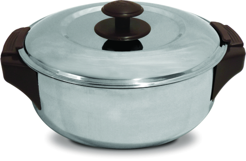 Leo S.S. Shallow Insulated Hot Pot - 7090 1000 ml