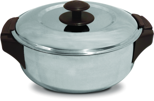 Leo S.S. Shallow Insulated Hot Pot 2500 ml