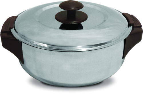 Leo S.S. Shallow Insulated Hot Pot 3500 ml