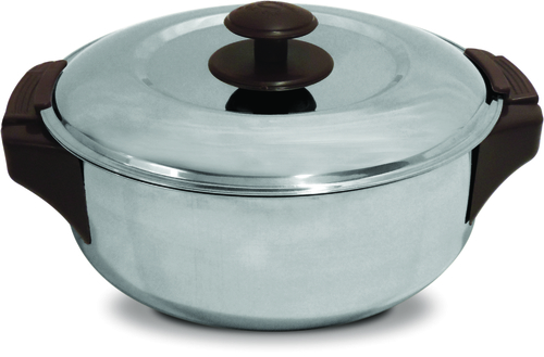 Leo S.S. Shallow Insulated Hot Pot 7094 - 1800 ml