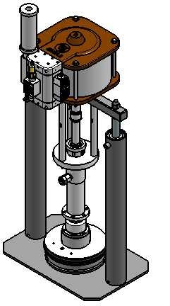 MEDIUM & HEAVY DUTY AIRLESS DRUM PRESS