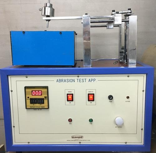 Abrasion Resistance Test Apparatus