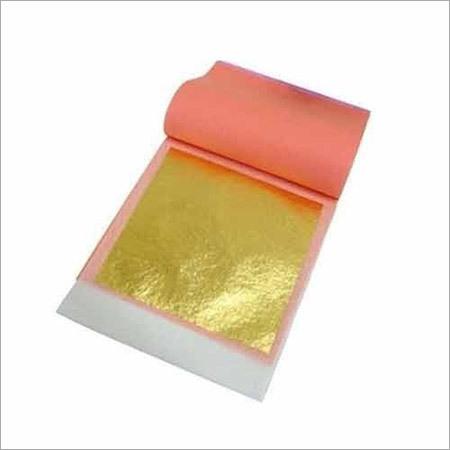 Gold Pasted Leaf