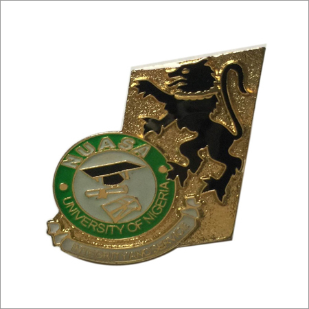 university pin badge
