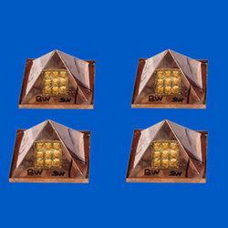 Four Corner Correction Pyramids