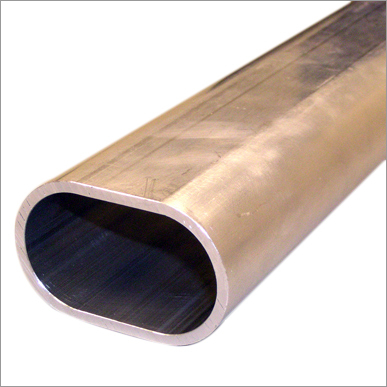 Oval Shape Stainless Steel Tube