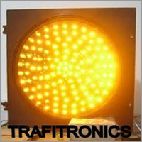 Traffic Warning Blinking Light