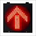 Red Arrow Street Light