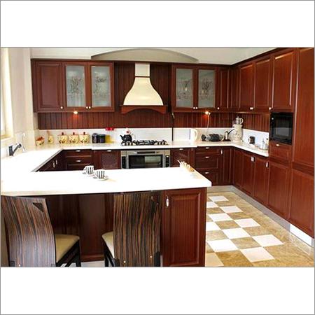 G Shape Modular Kitchen
