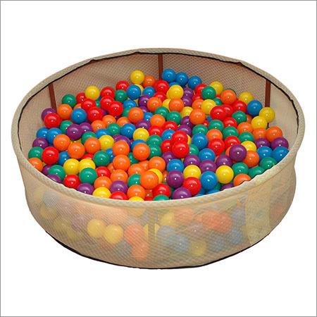 Tub With Sensory Balls