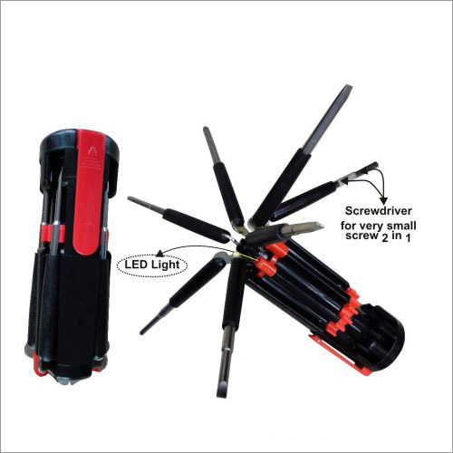 8 in 1 Multi screwdriver set with LED