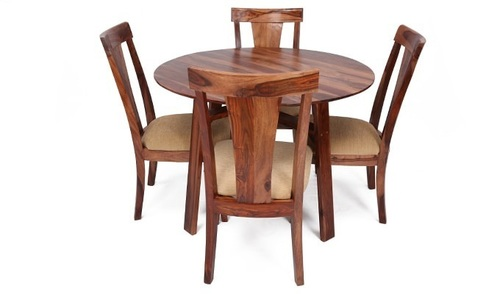 Dining Round Table with Four Chair