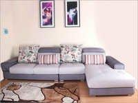 Fixed Back Cushion Sofa