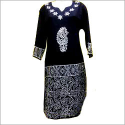 Mirror Work Ladies Kurtis
