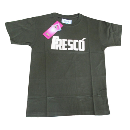 Printed Round Neck T-Shirts