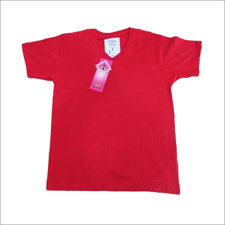 Plain V Neck T-Shirts