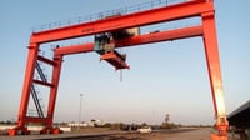 Rail Mounted Gantry Crane (RMGC)