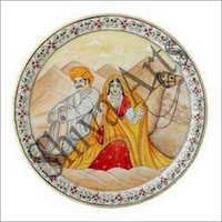 Treditional Marble Plate
