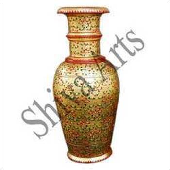 Golden Marble Vase