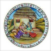 Printed Decorative Marble Plate