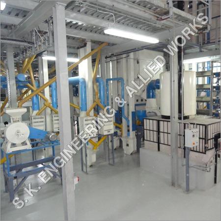 Arhar Dal Mill Plant