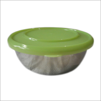 Plastic Lid Serving Bowl
