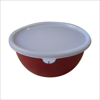 Microwave Safe Stainless Steel Lid Bowl