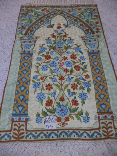 Hand made carpets and rugs.