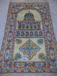 Muslim prayer rugs