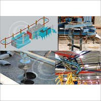 Hanger Shot Blasting Machine