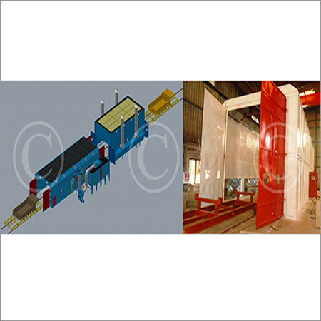 Structural Shot Blasting Machine
