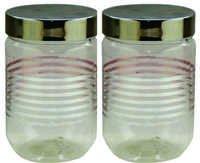 Senorita Pet Jar 800 Ml X 2 (F.P.) With Steel Lid