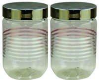 Senorita Pet Jar 1050 ml x 2 (F.P.) with Steel Lid