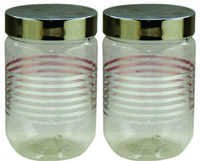 Senorita Pet Jar Set 3600 ml with Steel Lid (P)