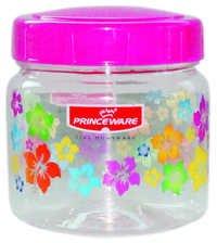 Julia Pet Jar Set 1050 ml With Spoon (F.P.)