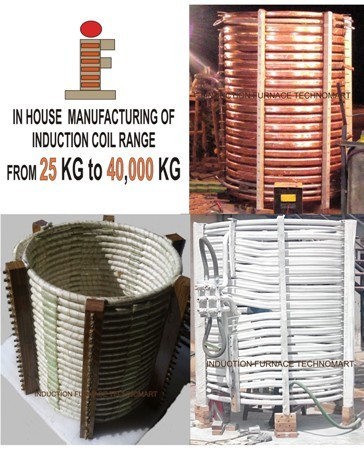 INDUCTION FURNACE COIL
