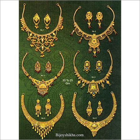 Fancy Gold Necklaces