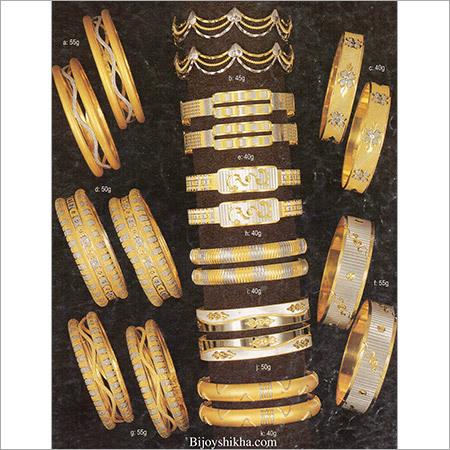 Fancy Gold Bangles