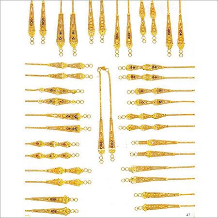 Ladies Gold Mangtika