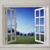 UPVC Double Leaf Casement Window