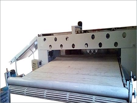 Cross lapper machine long bed