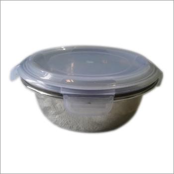 Lock Lid Plastic Bowl