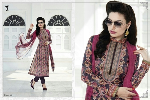 AYKA RAMP Cotton Embroidery Suits