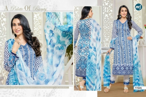 ESSENZA 5 Cotton Embroidery Suits