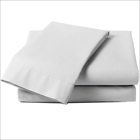 White Bed Sheet Cover