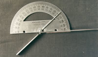 FINGER GONIOMETER (Stainless Steel) :